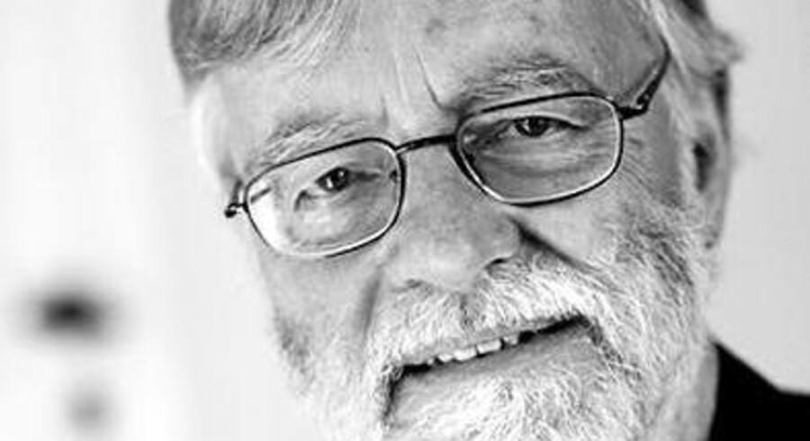 Professor Emeritus Erik A. Nielsen. Foto: Scanpix