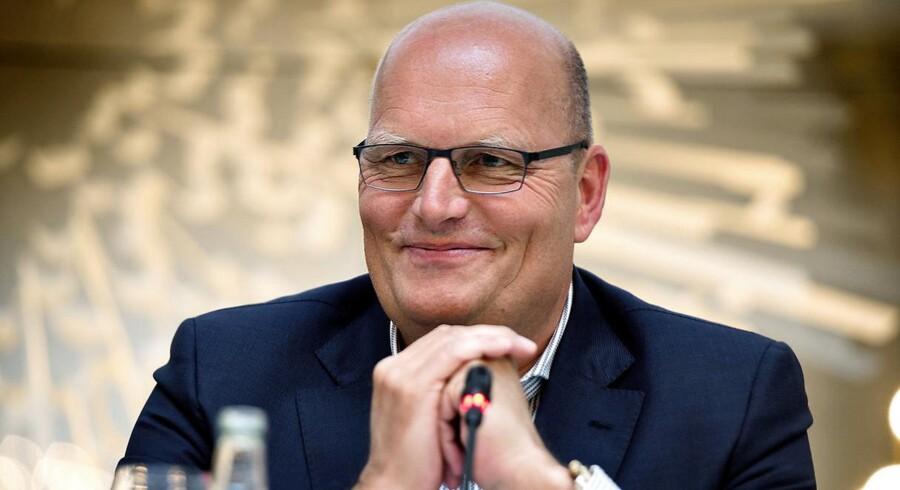 Bjarne Riis og den tidligere Saxo Bank-direktør Lars Seier Christensen ønsker at blive en del af cykelsportens World Tour.