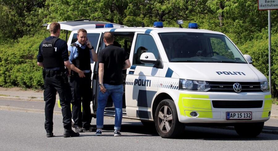 Politiet rykkede onsdag ud til en daginstitutionen Vedbyholm i Hvidovre efter anmeldelse om skud.