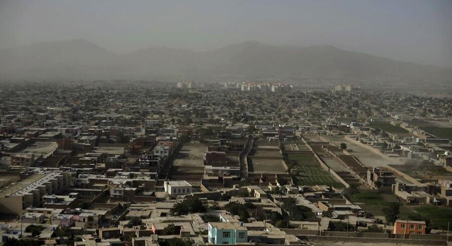 Kabul fra oven.