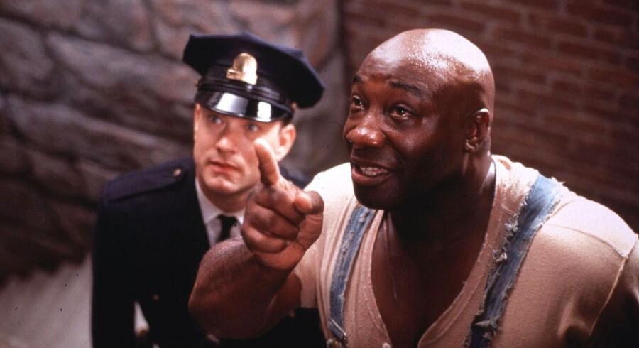 Michael Clarke Duncan spillede i »Den Grønne Mil« en dødsdømt fange på den dødsgang, hvor Tom Hanks' karakter var fangevogter.