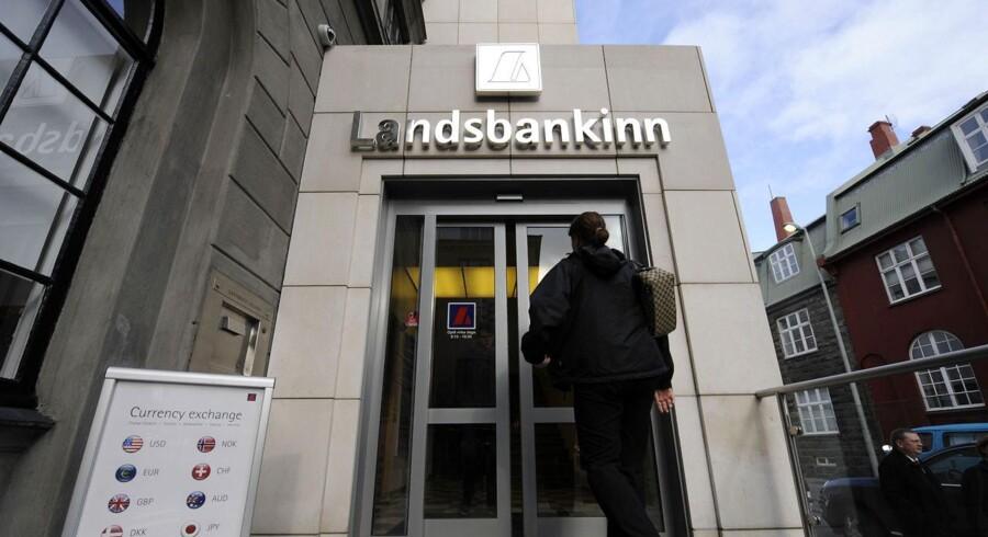 Islandske Landsbanki kunne ikke klare finanskrisen.