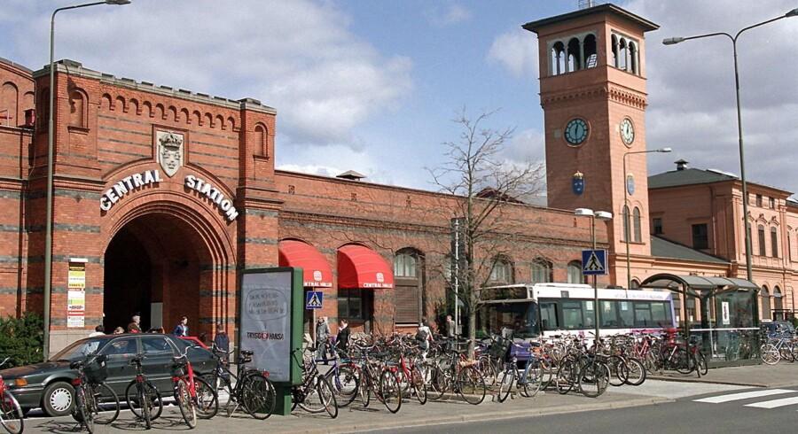 Malmø Centralstation. Arkivfoto