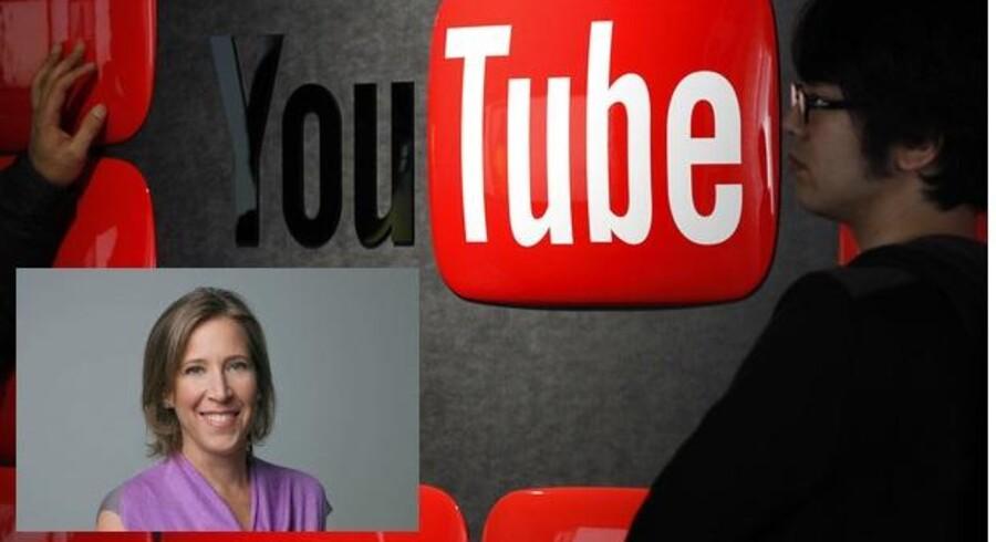 Susan Wojcicki (indsat billede) skal stå i spidsen for YouTube og gøre filmtjenesten til en bedre forretning for Google. Fotos: Scanpix og Google