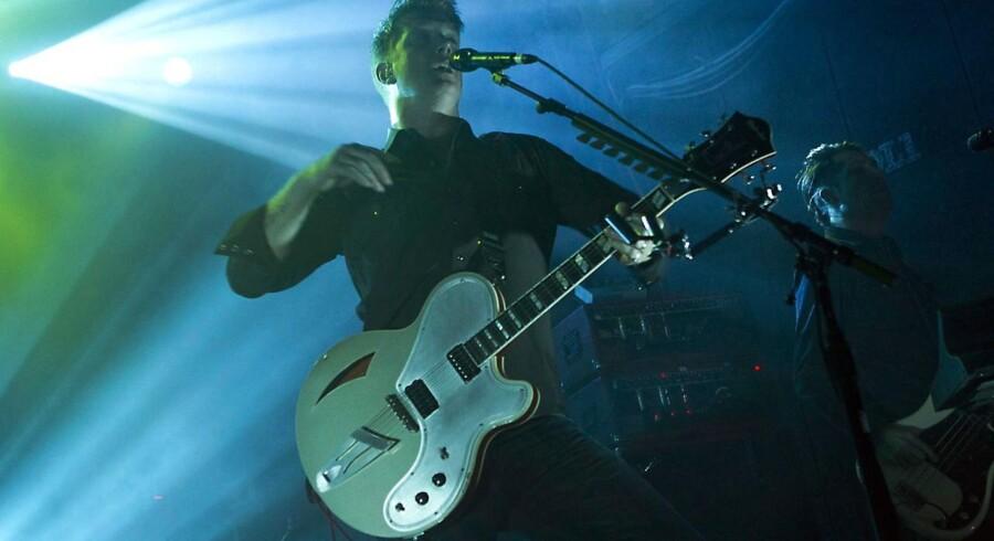 Josh Homme ved en koncert i Holland tidligere på året.