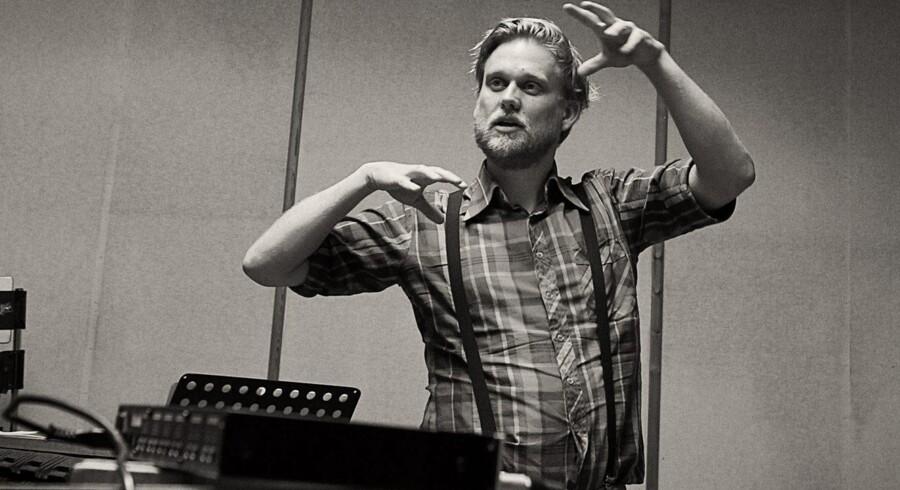 """Saxofonisten og komponisten Niels Lyhne Løkkegaard har med sit værk """"Vesper"""" skabt et smukt musiklandskab."""