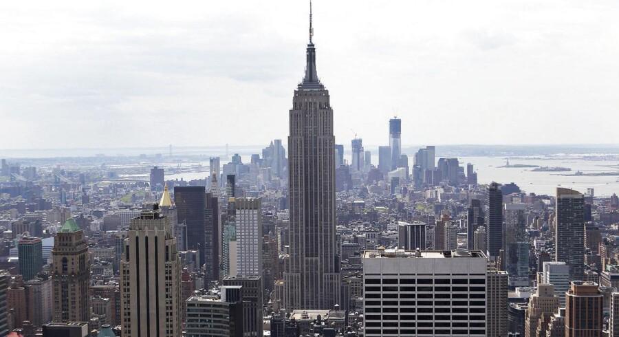 Empire State Building i New York, USA.