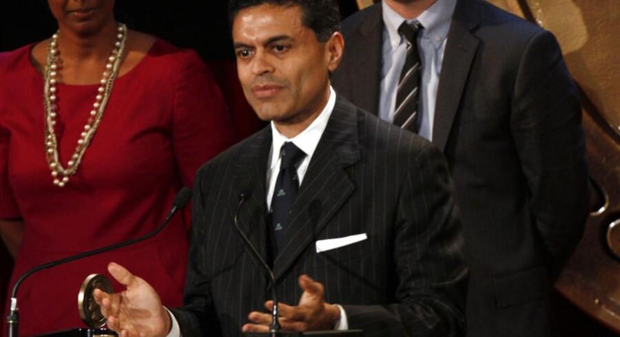 For få måneder siden modtog Fareed Zakaria en Peabody Award - en pris der gives for fremragende journalistisk indsats.