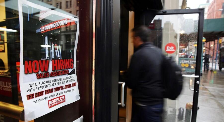 Flere er kommet i job i december i USA end ventet.