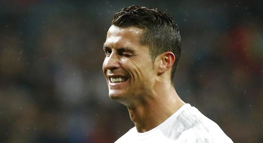 Cristiano Ronaldo havde mildest talt en af sine bedre dage, da Real Madrid mandag havde CL-besøg af Wolfsburg på Santiago Bernabeu.