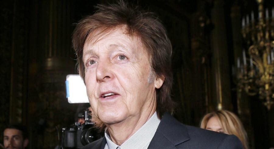 Den tidligere Beatle Paul McCartney giver koncert i Herning 27. juni.