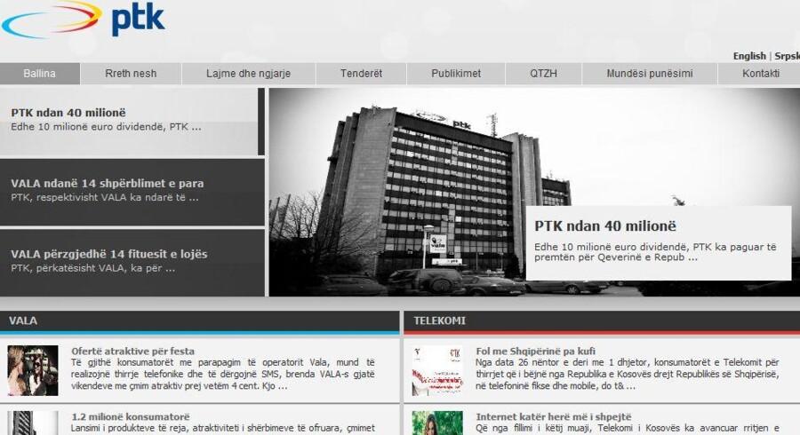 Kosovos svar på TDC hedder PTK og har været forsøgt privatiseret, men flertallet i parlamentet smuldrede.