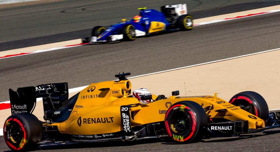 Den danske racerkører Kevin Magnussen (Renault) sluttede på 11.-pladsen i sæsonens andet Formel 1-grandprix i Bahrain.