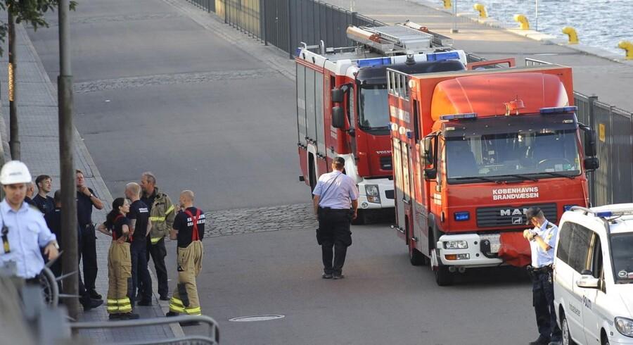 Politiet havde i en periode afspærring på Langelinie
