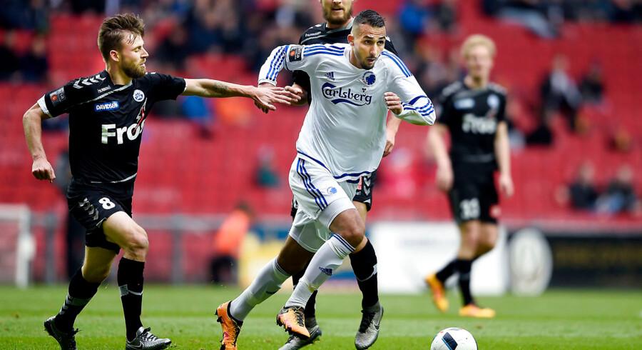 Sønderjyske tabte søndagens topkamp i Alka Superligaen på udebane mod FC København med 0-1.