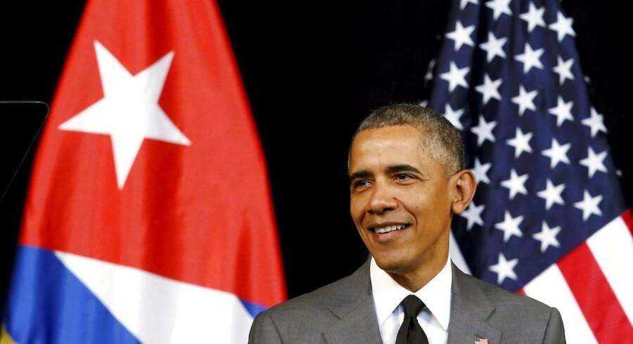 USAs præsident, Barack Obama, taler om frihed til det cubanske folk i Gran Teatro i Havana.