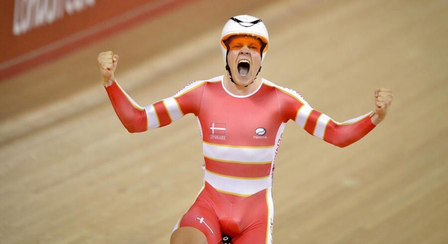 Danske Lasse Norman Hansen tog guld i cykeldisciplinen Omnium ved OL i London.