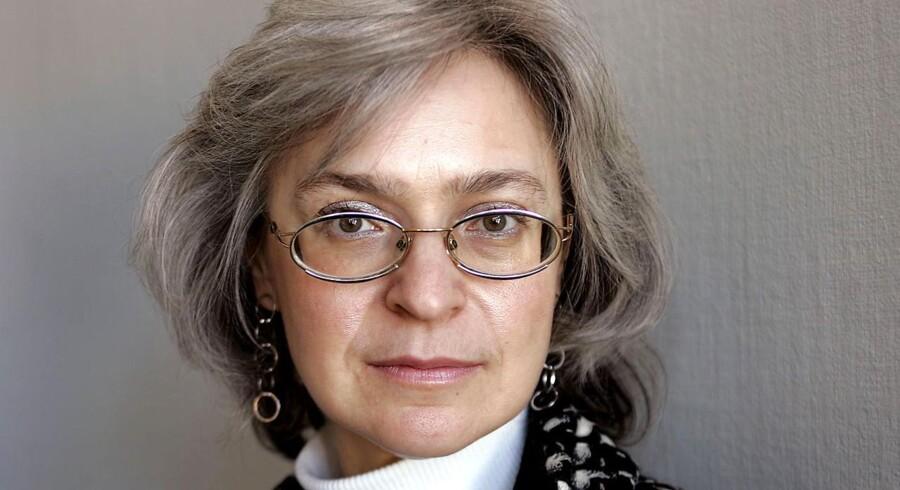 Den systemkritiske journalist Anna Politkovskaja nåede at modtage flere priser for sin journalistik inden hun blev dræbt.