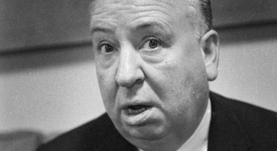"""846 filmeksperter har sat den engelske filminstruktør Alfred Hitchcock øverst på listen over verdens bedste med filmen """"En kvinde skygges"""". Foto: Karl Nord Sørensen"""