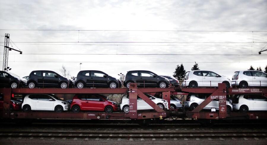 Ringsted Station transport af VW UP