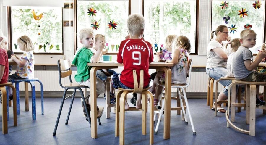 """Arkivbillede fra børnehaven """"Ahornhuset"""" i Hørsholm."""