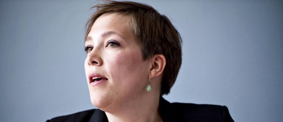 Sundhedsminister Astrid Krag (SF).