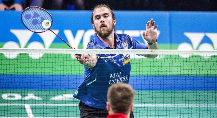 Jan Ø. Jørgensen tabte den indledende danske singlekamp, men det endte alligevel med en dansk triumf.