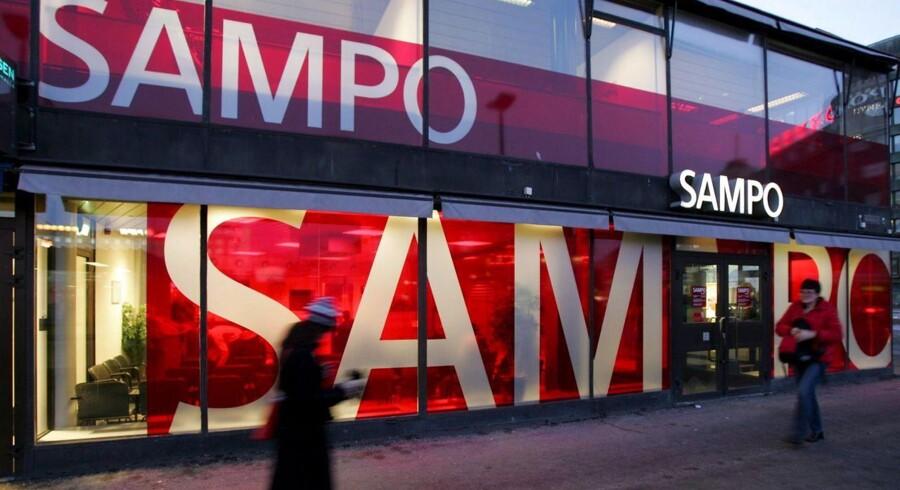 Den finske forsikringskoncern Sampo, der blandt andet rummer forsikringsselskabet If og har ejerandele i Topdanmark og Nordea, landede et resultat før skat på 403 mio. euro i tredje kvartal af 2013.