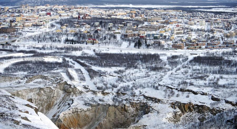 Den nordsvenske by Kiruna danner ramme om møde i Arktisk Råd.