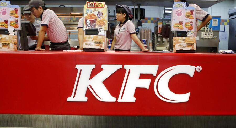 Yum Brands, der bla. står bag KFC, har haft problemer fødevaresikkerheden i de asiatiske markeder, hvilket har sat sine spor på virksomhedens regnskab.