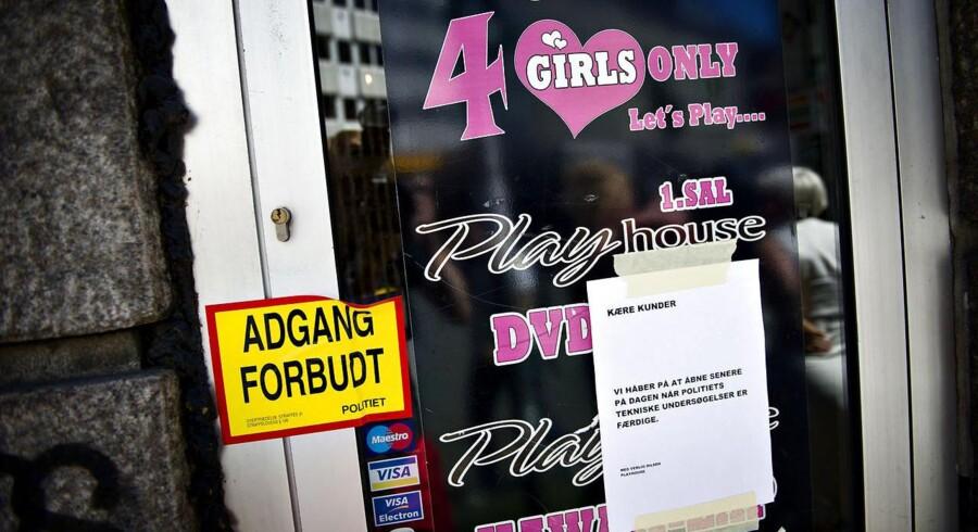 Pornobiografen Playhouse, hvor polakken 27. juli blev fundet død-