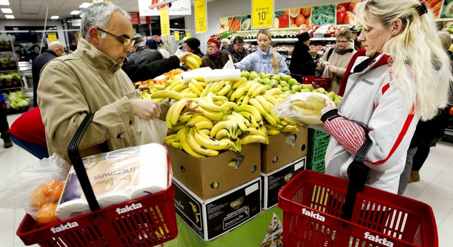 En global fødevarekrise kan også betyde højere priser for de danske forbrugere.