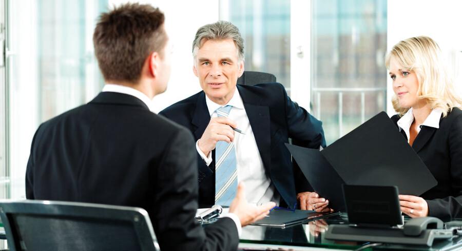 ARKIVFOTO. Ny forskning viser, at ledere viser det højeste niveau af professionel vitalitet, når de er i 50'erne.