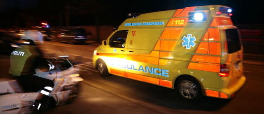 Ambulancedriften i Region Sjælland har skiftet hænder efter svenske Samariten trak sig. Her ses en af hovedstadens ambulancer.