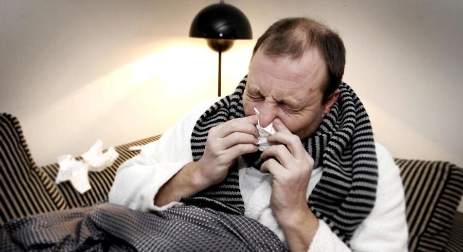Danmark er ramt af influenza, men Statens Serum Institut afviser, at der er tale om en epidemi.