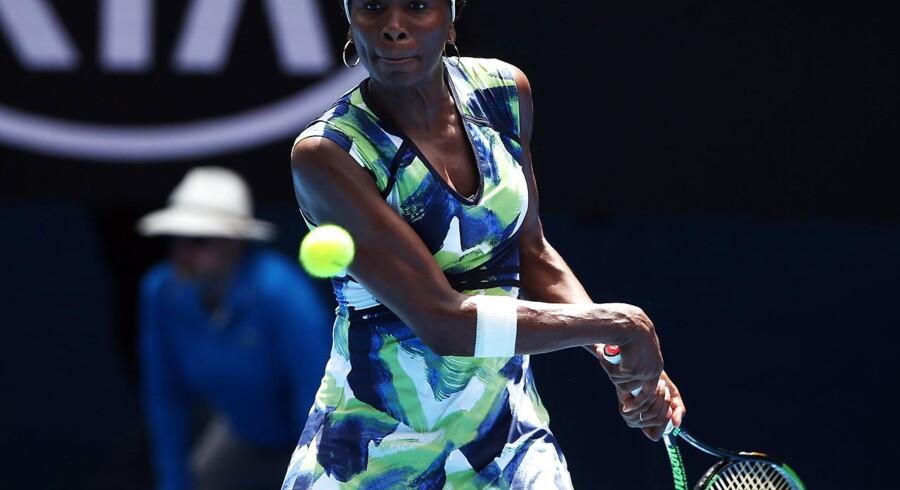 ARKIVFOTO. Venus Williams under Australian Open.