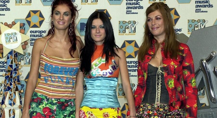 For ti år siden dansede verden til lyden af »Aserejé/The Ketchup Song«. Las Ketchup-pigerne opkaldte deres trio efter faderen, en flamencoguitarist med tilnavnet »El Tomate« – og efter at have solgt syv mio. eksemplarer af vrøvlehittet, var det slut med Las Ketchups liv i rampelyset. Arkivfoto.