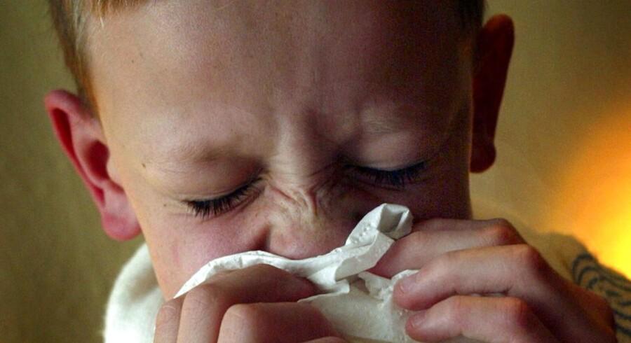 Endnu en gang influenza kan være på vej ind over Danmark.