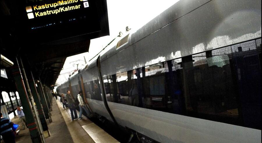 Der er færre tog, men til gengæld er de længere, fortæller DSB Øresund.