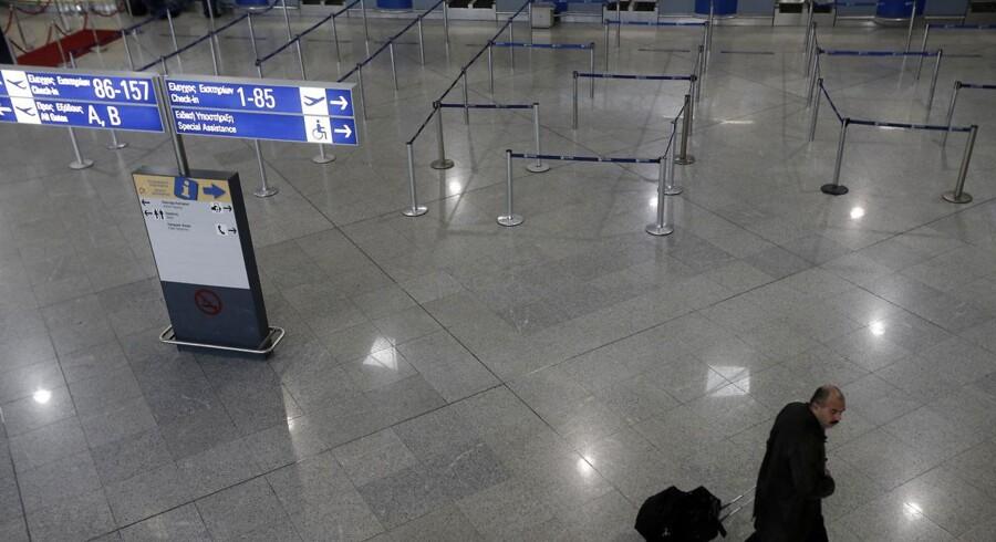 ARKIVFOTO fra Athens lufthavn.