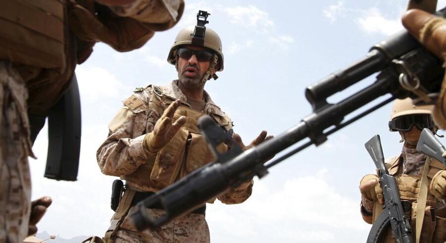 Saudiske tropper kan komme på tale på landjorden i Syrien.