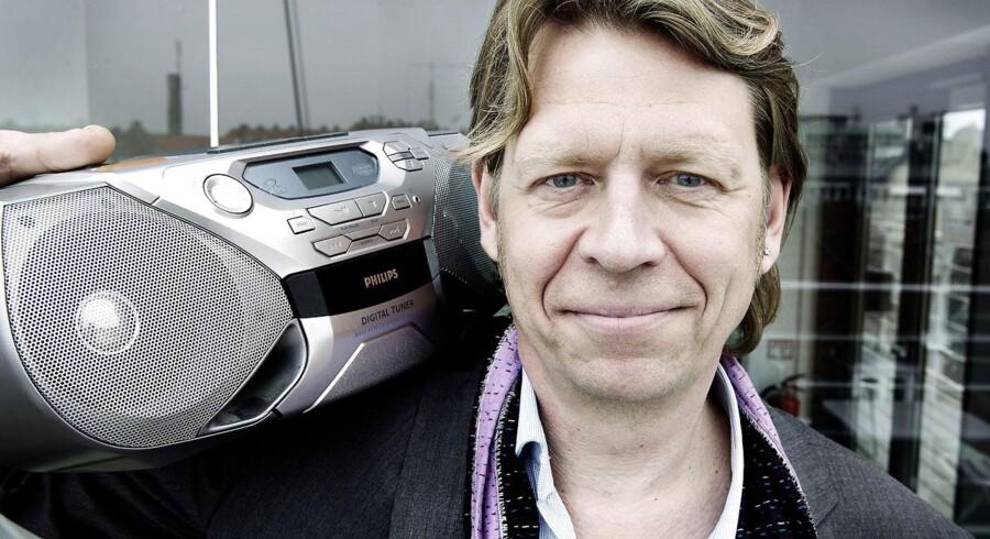Adm. direktør og ansvarshavende chefredaktør for Radio24syv, Jørgen Ramskov, beder om tålmodighed med lyttertallene.