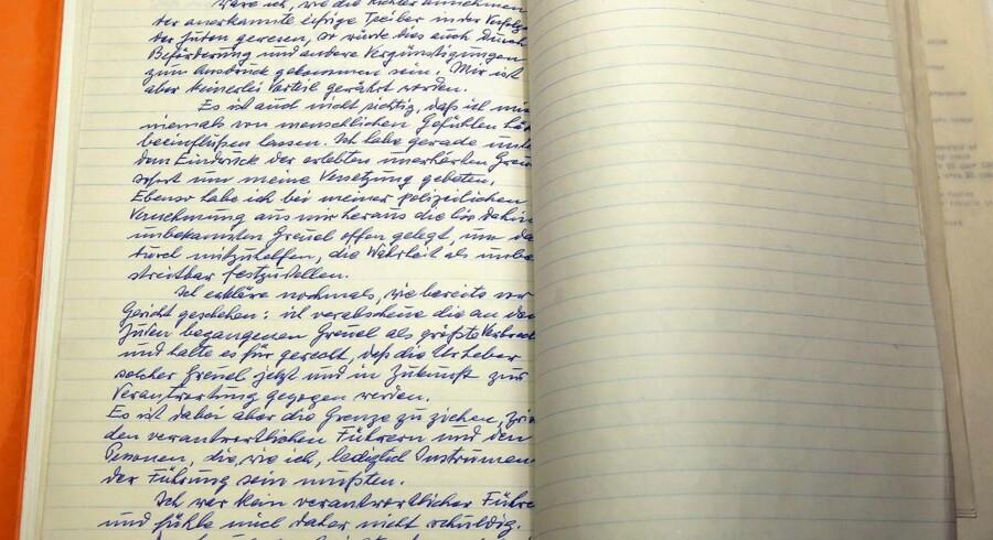 Israel har i dag offentliggjort Eichmanns brev.