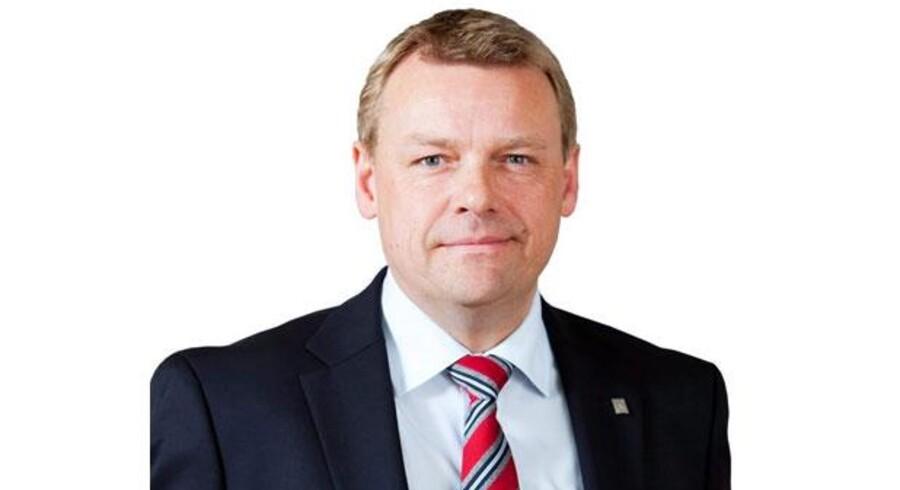 Søren Larsen, adm. direktør Grontmij
