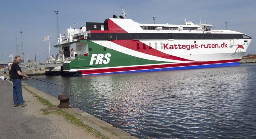 Kattegatruten vil indsætte hurtigfærge mellem Kalundborg og Aarhus men kan ikke få sejltilladelse. Arkivfoto: Kim Haugaard, Scanpix