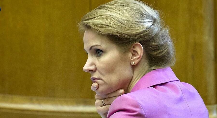 Statsminister Helle Thorning-Schmidt. Men hvor længe?