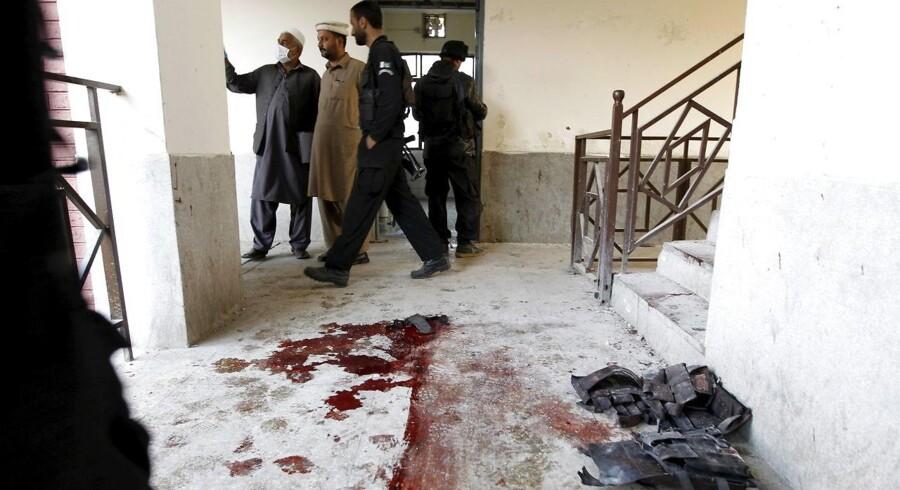 Det blodige angreb i Pakistan kostede angiveligt 19 menneskeliv.