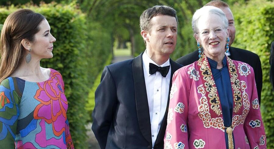 Foruden regentparret deltager kronprins Frederik og kronprinsesse Mary, prins Joachim og prinsesse Marie samt prinsesse Benedikte til Dronningens første selskab for frivillige nogensinde.