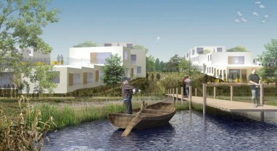 Projektet om et nyt feriecenter i Egedal kommune er faldet til jorden. Det skulle ellers have været den helt store gevinst for kommunen.