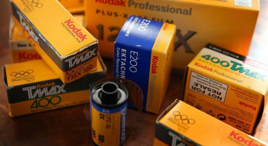 Dette er fortid. Kodak er reddet fra konkurs, men fremover er Kodak uden film og fotos. Foto: Scott Olson, Getty Images/AFP/Scanpix